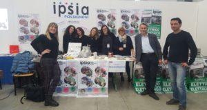 Lo spazio dedicato all'Ipsia nel CivitaExpo di Civitanova Marche