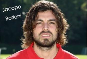 Borioni, autore del gol partita