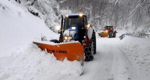Tanti disagi per la neve (foto d'archivio)