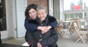 Nadia Acerbi con la nonna Angela