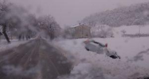 Un'auto finisce fuori strada sul rettilineo di Cesolo