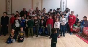 La foto di gruppo con l'istruttore Boris Giachetta e con l'assessore Paolo Paoloni