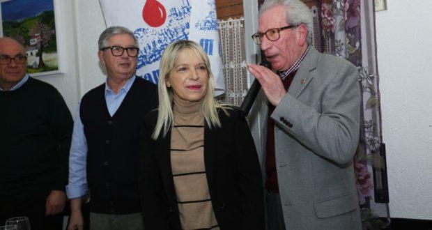 Da sinistra Anelido Appignanesi, il sindaco Rosa Piermattei e Alberto Pancalletti (foto Della Mora)