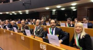 Il sindaco Rosa Piermattei al workshop di Bruxelles