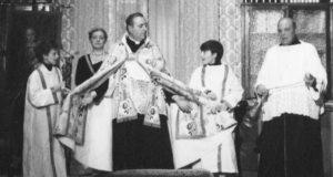 """Don Amedeo Gubinelli nei panni di don Piè in """"Patre pe' procura"""""""