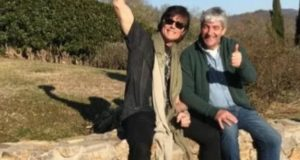 Ronn Moss con Paolo Rossi