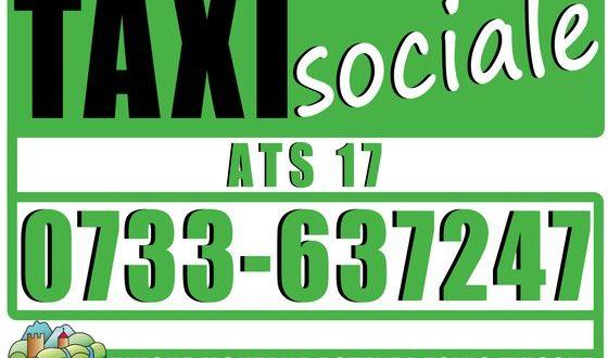 Il servizio del Taxi sociale