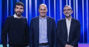 I tre candidati alla segreteria del Pd