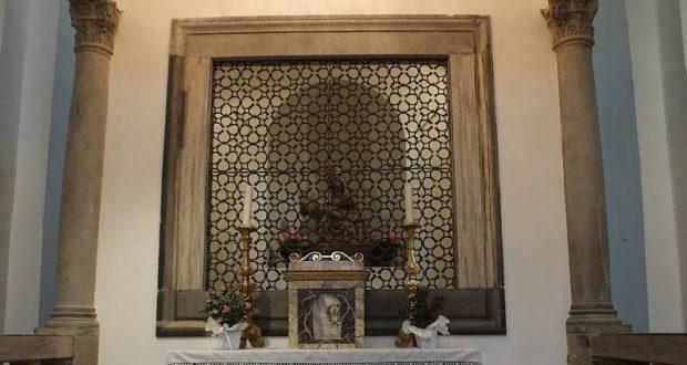 La Madonna del Glorioso custodita all'interno del santuario