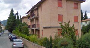La palazzina in via Raffaello Sanzio
