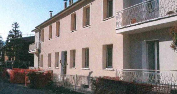 La palazzina in via Petrarca