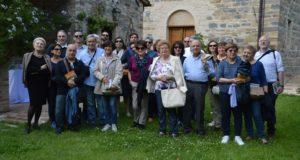 Foto di gruppo assieme alla professoressa Gabriela Lampa