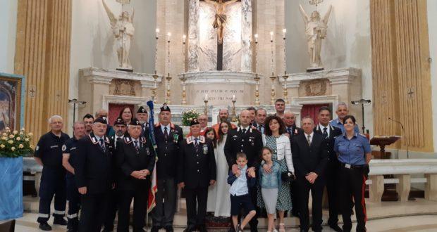 Foto di rito al termine della messa