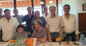 Alcuni dei pensionandi Itis