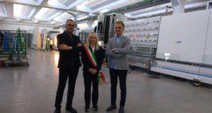 Il sindaco con Graziano e Daniele Marcantonelli