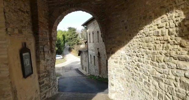 Un'immagine di Serralta tratta dal video