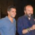 Il giovane Giustolisi con il poeta Rondoni