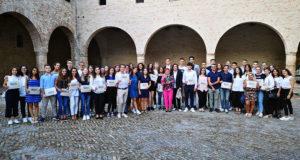 I premiati al Castello della Rancia