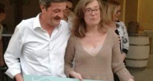 Cesare Martini e Loredana Agrifoglio