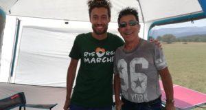 Il presidente Cicconi assieme a Edoardo Bennato