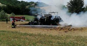 L'intervento di Vigili del fuoco e Protezione civile