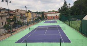 I nuovi campi da tennis