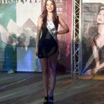 Vittoria Massei con la fascia del concorso Miss Italia