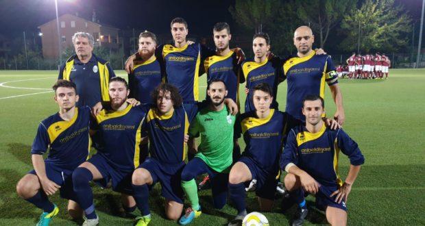 La formazione del Serralta schierata in Coppa