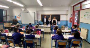 La visita alla scuola di Cesolo