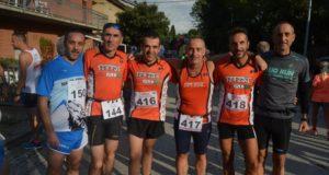 Gli atleti della Polisportiva Serralta