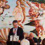 L'intervento di Giovanni Chiarella durante la premiazione