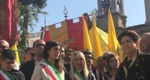 Rosa Piermattei a Roma con la Raggi e il Ministro Bellanova