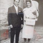 Gli sposi nel giorno del loro matrimonio (1959)