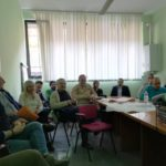La riunione nella sede dell'Unione montana a San Severino