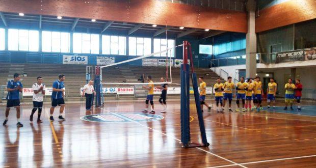 Un'immagine del match della Sios Novavetro