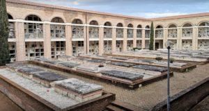 Un angolo del cimitero di San Michele