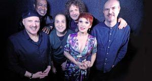 Mafalda e i musicisti protagonisti del suo nuovo album