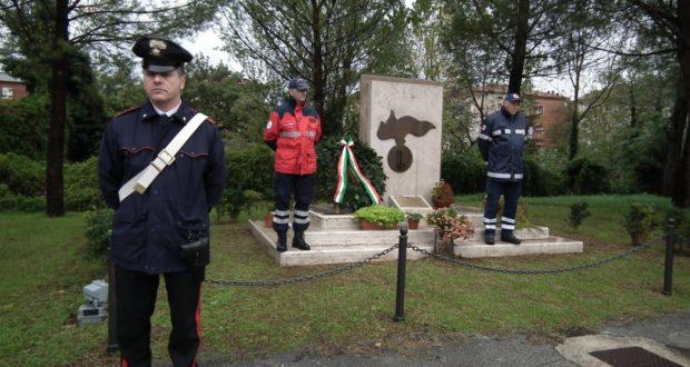 Cerimonia al monumento in ricordo dei caduti delle Missioni internazionali di pace