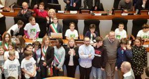 la professoressa Bianconi e il sindaco baby Lovaglio ad Ancona