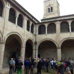 La tappa conclusiva al chiostro del Duomo vecchio al Castello