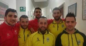 I sei tesserati della Polisportiva Serralta