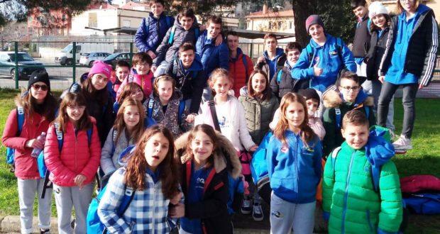 I promettenti nuotatori del Blugallery impegnati a Cortona