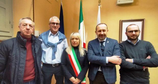 In Comune la visita istituzionale del senatore Arrigoni