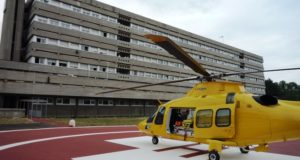 Elisuperficie all'ospedale di San Severino