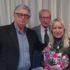 Anelido Appignanesi con il sindaco Rosa Piermattei e Alberto Pancalletti