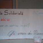 L'idea dell'assegno donato dagli amici ad Emanuela