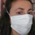 Una delle mascherine realizzate dalla Pelletteria Massi