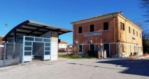 L'area della stazione ferroviaria