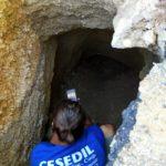 Il primo scavo