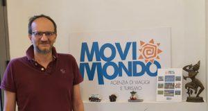 """Emanuele Piunti, uno dei titolari dell'agenzia """"Movimondo"""""""